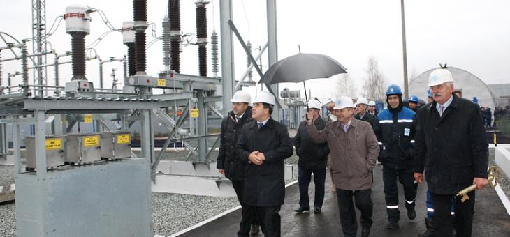 Состоялась торжественная церемония открытия подстанции 110 кВ Высокая Гора после реконструкции