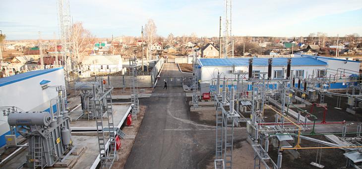 Полная реконструкция подстанции 110 кВ «Болгары»