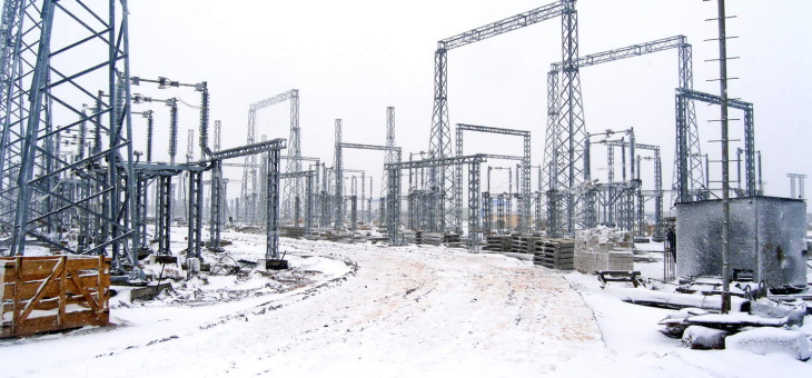 ООО «Гидроэлектромонтаж» ведет завершение строительной части  ПС «Бегишево»