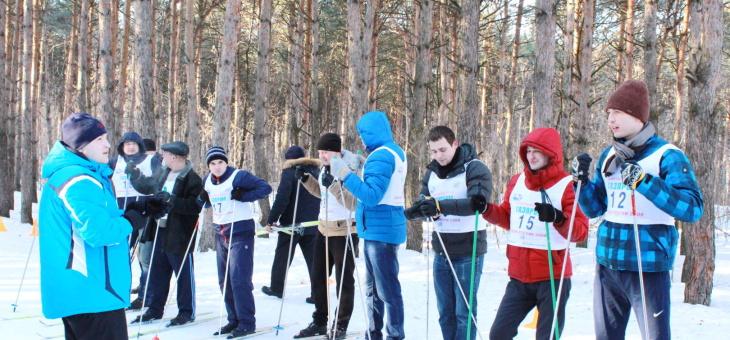 В день Святого Валентина прошли соревнования по лыжным гонкам среди работников ООО «Гидроэлектромонтаж»