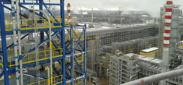 ООО «ГЭМ » продолжает строительство первой очереди «Комплекса получения ароматики» ТАНЕКО