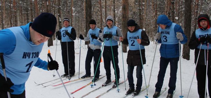 Вторые лыжные гонки  среди работников ООО «Гидроэлектромонтаж»