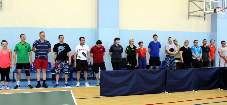 Соревнования по настольному теннису Закамской зоны в рамках XVI Cпартакиады Электропрофсоюза РТ