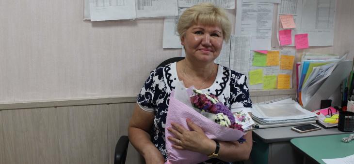 С юбилеем, Миронова Ирина Ильинична!