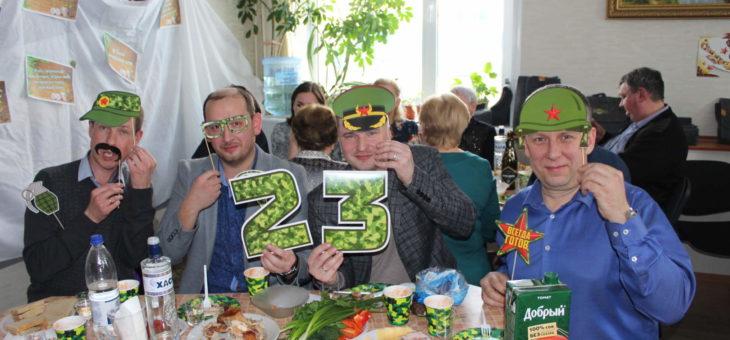 В ООО «Гидроэлектромонтаж» прошли праздничные мероприятия, посвященные Дню защитника Отечества